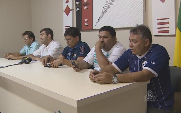 Agora, apenas quatro equipes devem disputar o estadual. Ypiranga e São José devem ficar de fora, como já tinham anunciado (Foto: Reprodução/TV Amapá)