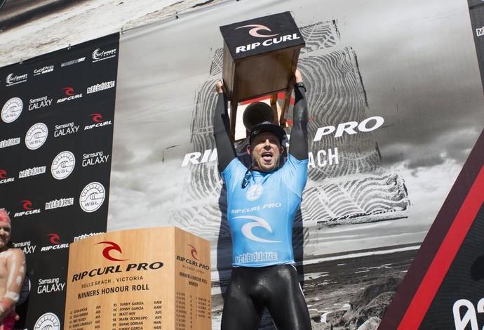 Mick Fanning, surfe, Circuito Mundial, Bells Beach, Austrália (Foto: AP)
