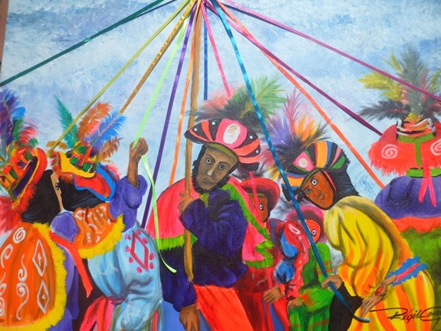 """Exposição """"Nossa Cultura"""", do artista plástico Regis Gomes, em Cuiabá. (Foto: Divulgação)"""