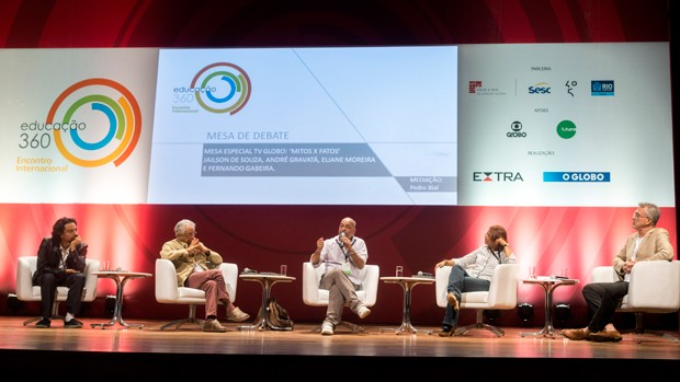 Globo promove debate sobre mitos e fatos da Educação (Globo/Frederico de Souza)