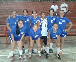 AABB, time de handebol feminino de Rio Branco (Foto: Divulgação/Fach)
