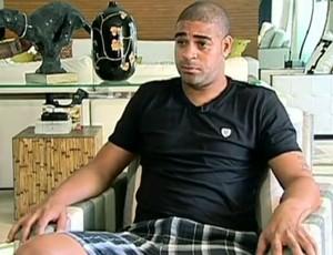 FRAME - adriano ex-jogador do corinthians (Foto: TV Globo)
