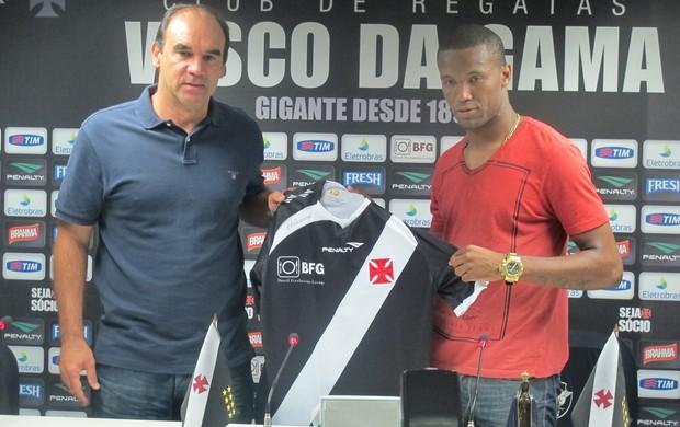 rafael vaz vasco apresentação (Foto: Globoesporte.com)
