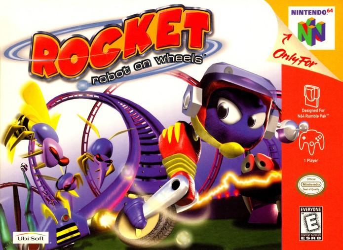 Rocket precisa salvar animais e um parque de diversões (Foto: Reprodução/GameDBase)