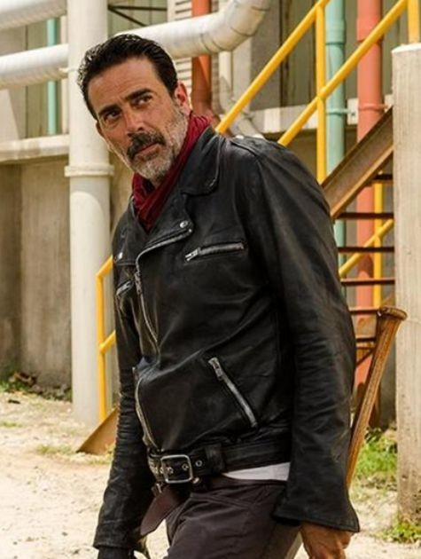 Jeffrey Dean Morgan, o Negan de 'The walking dead' (Foto: Fox)