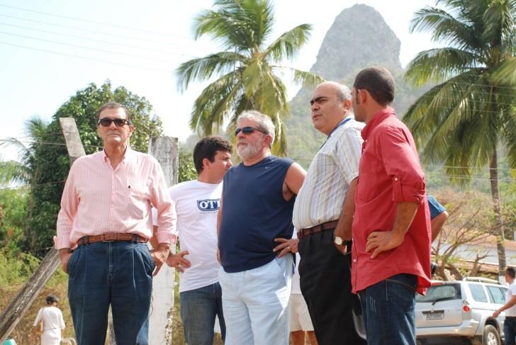 Lula com Romeu Baptista