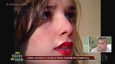 Fábio Assunção fez par romântico com a atriz Daniela Perez na última novela dela