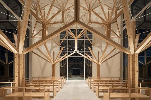 Nagasaki recebe capela surpreendentemente simétrica  (Foto: Divulgação)