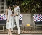 Camila Queiroz e Mateus Solano em cena de 'Pega pega' | Reprodução