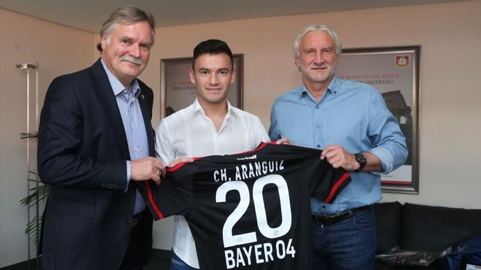 Charles Aránguiz Bayer Leverkusen (Foto: Divulgação / Site oficial)
