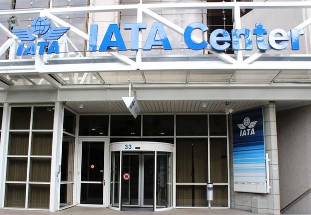 Sede da Associação Internacional de Transporte Aéreo (Iata na sigla em inglês) (Foto: Reprodução/Facebook)