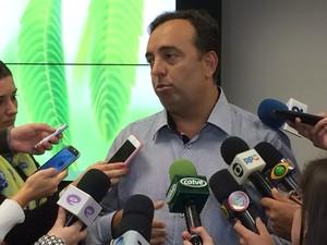 Secretário de Segurança Pública do Parana, Fernando Francischini (Foto: Christopher Spuldaro/RPC)