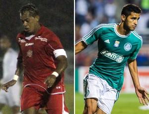 Marcelinho Paraiba e Alan Kardec (Foto: Montagem sobre foto da Agência Estado)