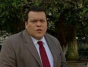 Valber Mota, advogado e torcedor do Leão responsável pela ação contra a CBF (Foto: Reprodução/TV Liberal)