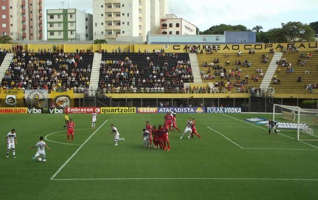 São Bernardo x Capivariano Campeonato Paulista 2015 (Foto: Assessoria de Imprensa SBFC)