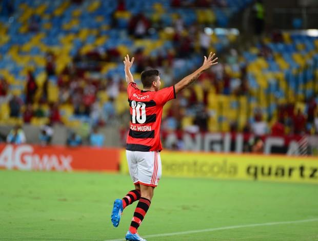 Mugni, Flamengo x Cabofriense (Foto: Alexandre Vidal/Fla Imagem)