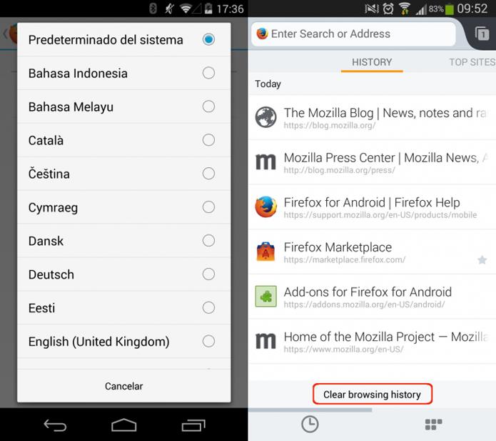 Aplicativo para Android permite trocar idiomas sem reinicializar (foto: The Next Web)