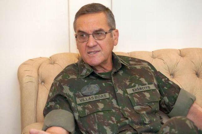 Comandante do Exército, general Eduardo Villas Bôas (Foto: Exército brasileiro)