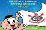 Maurício de Sousa desenha Cascão comemorando título do Corinthians (Maurício de Souza )