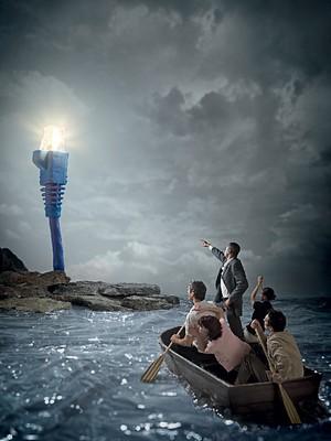 MISTICISMO TECNOLÓGICO A fé no poder da internet se transformou  numa ideologia?  (Foto: C.J. Burton/Corbis)