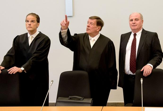 Uli Hoeness julgamento (Foto: Agência AFP)