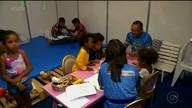 Este ano o São João de Petrolina contou com um espaço para os filhos dos ambulantes.
