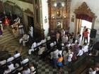 Gilberto Gil é homenageado em missa na Igreja do Rosário dos Pretos