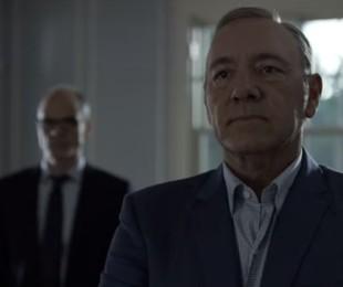 Cena do trailer de 'House of cards' | Reprodução