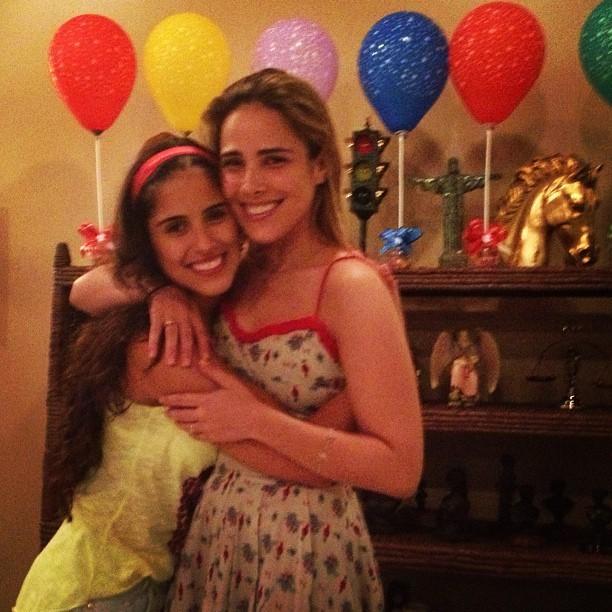 Camilla Camargo com a irmã Wanessa (Foto: Instagram/ Reprodução)
