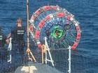 EUA resgatam homem que tentava chegar às Bermudas em bolha inflável