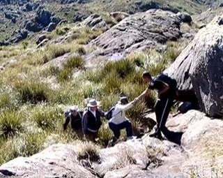 A equipe do Revista é a 1ª a registrar imagens da trilha do Couto na parte alta do Parque Nacional do Itatiaia (Foto: Reprodução Rio Sul Revista)