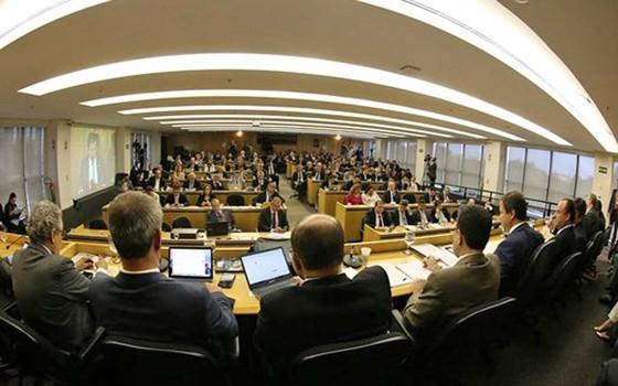 Conselho Federal da OAB aprovou relatório recomendando que a entidade ingresse com pedido de impeachment contra o presidente Michel Temer na Câmara dos Deputados (Foto: Eugênio Novaes/OAB)