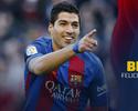 Suárez faz aniversário, e Barça publica vídeo repleto de gols do atacante no treino