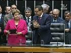 Câmara dá medalhas a Barbosa e Dilma pelos 25 anos da Constituição