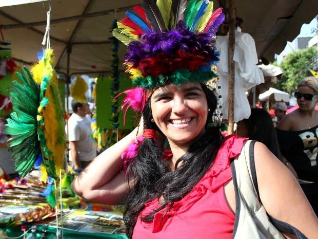 Feira De Artesanato Manaus ~ G1 Em feira de artesanato no AM, turistas investem em adereços indígenas notícias em Amazonas