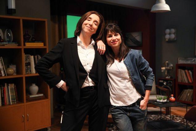 Marisa Orth e Chandelly Braz (Foto: Tricia Vieira/Divulgação)