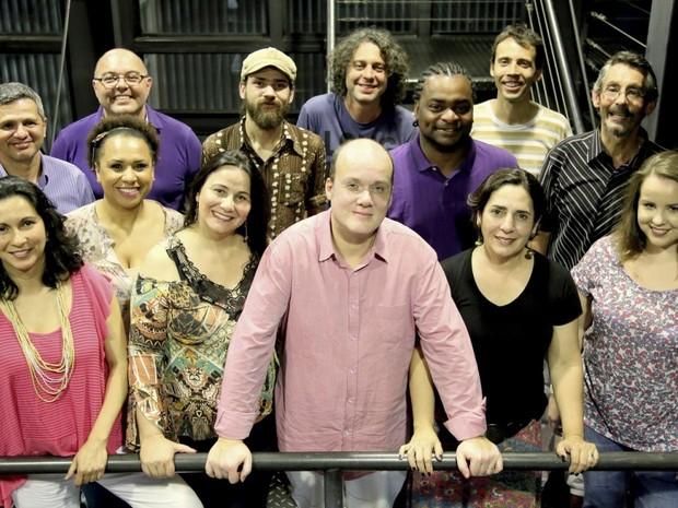 Vocal Brasileirão se apresenta às 21h desta terça-feira (26), no Teatro da Reitoria (Foto: Divulgação / Fundação Cultural de Curitiba /  Cido Marques)