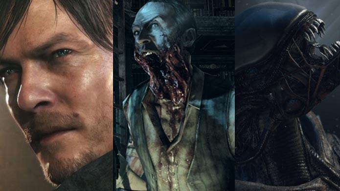 Conheça os jogos de terror que serão lançados em breve (Foto: Arte/TechTudo)
