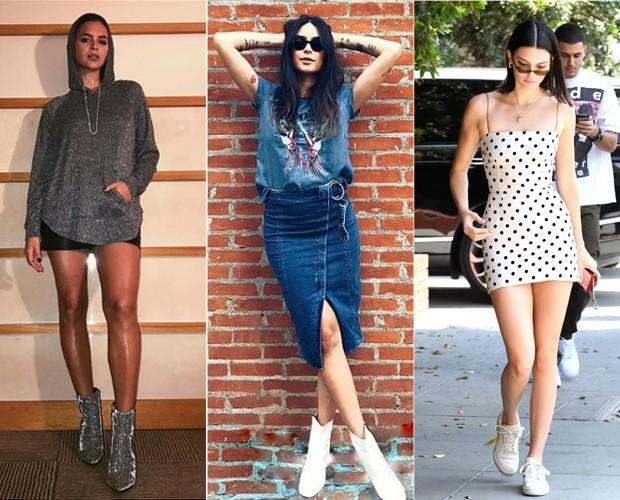 Bruna Marquezine, Thaila Ayala e Kendall Jenner (Foto: Reprodução / Instagram)