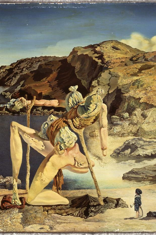 Salvador Dalí. O espectro do sex-appeal, c. 1934. Fundació Gala-Salvador Dalí, Figueres.  (Foto: © Salvador Dalí, Fundació Gala-Salvador Dalí, AUTVIS, Brasil.)