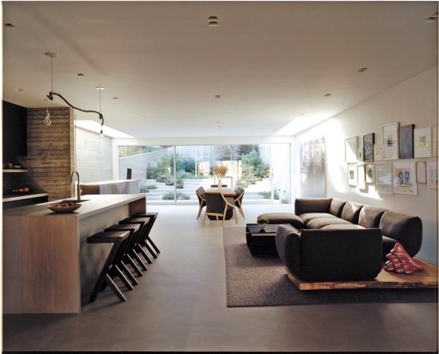 Yves Béhar mostra sua casa do futuro, repleta de novas tecnologias (Foto: François Halard)