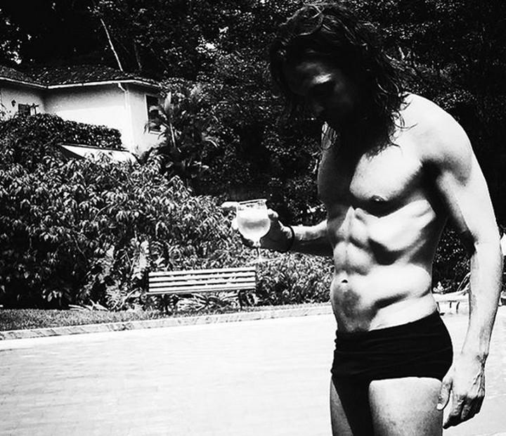 Igor Rickli posta foto ostentando tanquinho sarado nas redes sociais (Foto: Arquivo pessoal)