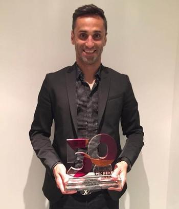 Jonas prêmio Benfica (Foto: Divulgação)