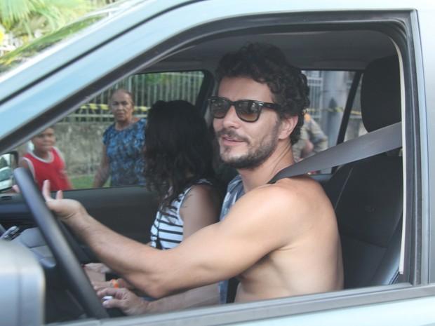 Daniel de Oliveira em Belém, no Pará (Foto: Wesley Costa/ Ag. News)