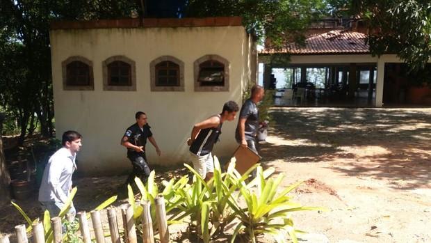 Suspeito de matar Loalwa Braz (Foto: Lucas Pasin/ EGO)