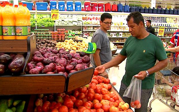 compras (Foto: Bom Dia Amazônia)