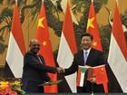 China recebe presidente do Sudão como 'velho amigo'