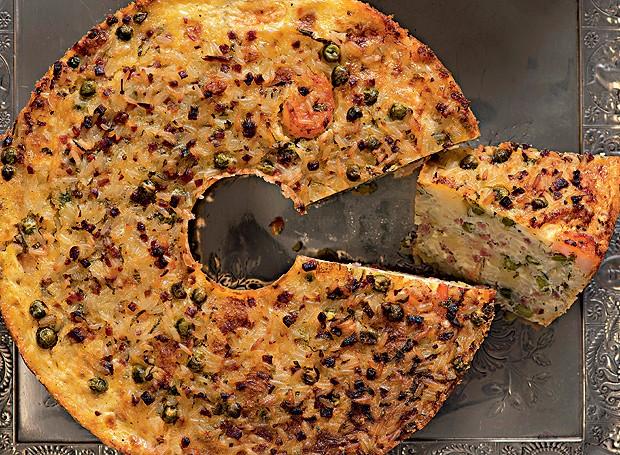 Coroa de arroz com camarão (Foto: Iara Venanzi/Editora Globo)