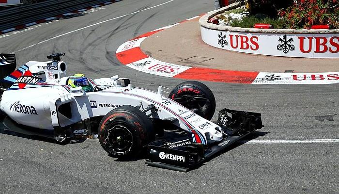 Felipe Massa roda Mônaco