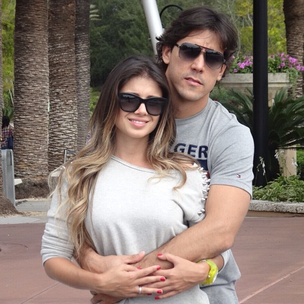 Paula Fernandes e namorado (Foto: Reprodução/ Instagram)